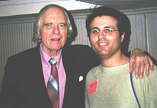 Angus Scrimm and Andy Lalino