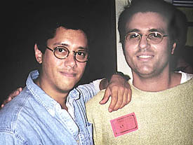 Dean Devlin and Andy Lalino