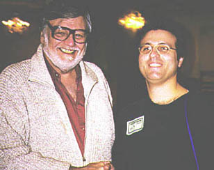 George Romero and Andy Lalino