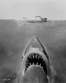 Classic Jaws poster