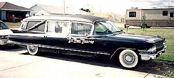 The Doctor's hearse